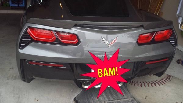 Corvette Bumper C7 Wounded