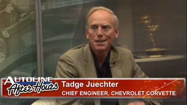 Tadge Juechter Corvette Chief Engineer on Autoline After Hours