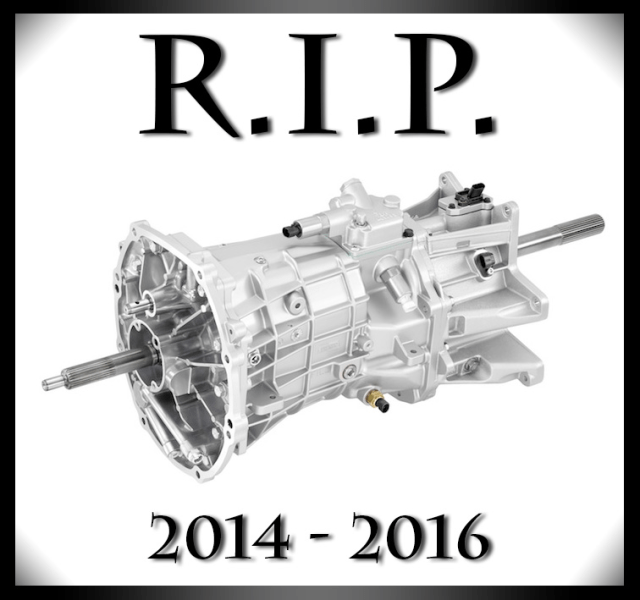 C7 Chevrolet Corvette Tremec TR6070 Seven-Speed Manual Transmission RIP