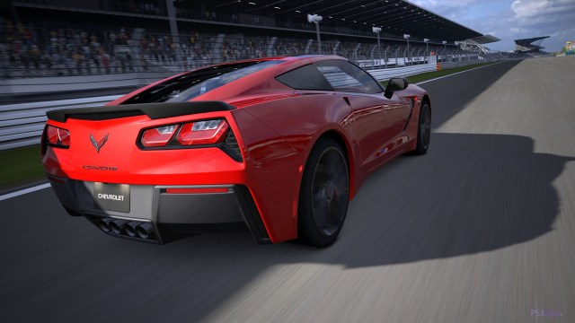 chevrolet-corvette-c7-stingray on track