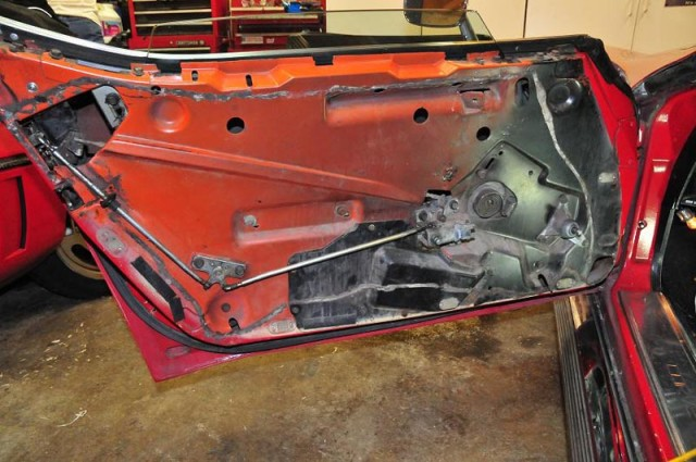 Corvette panel
