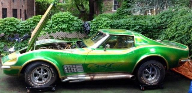 1971-Chevrolet-Corvette-C3-Green-Paint-700x340