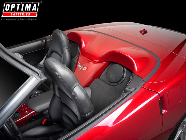 C6 Corvette Convertible Custom Subwoofer