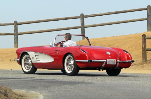 George Clooney Corvette