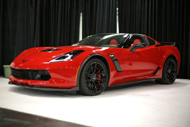 Chevrolet Corvette at OC Auto Show Home