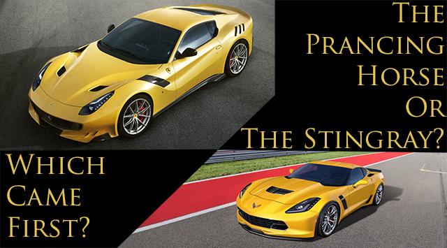 Did Ferrari Steal The Corvette C7 Z06 S Design Corvetteforum
