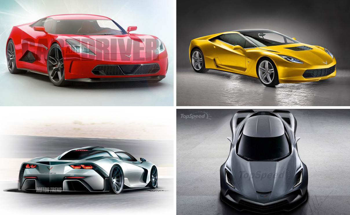 Poll Which Mid Engine C8 Corvette Rendering Is Your Favorite