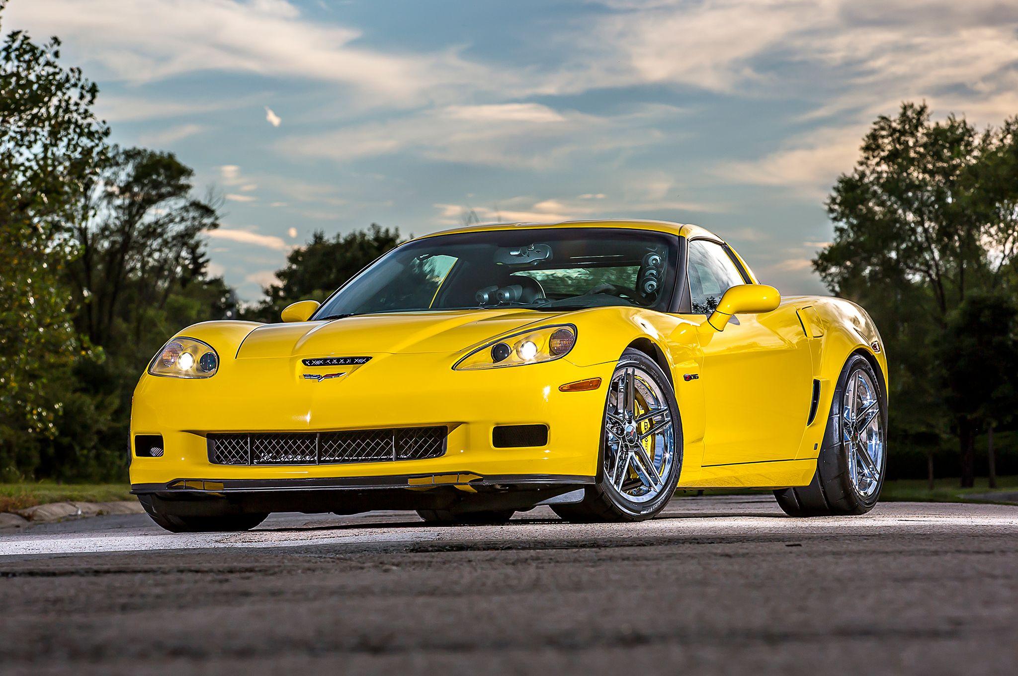 2007 Chevy Corvette Front Side View Corvetteforum