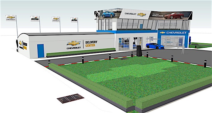 The Chevrolet Delivery Center at DIS