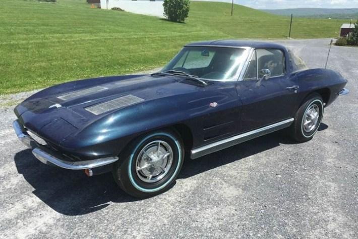 1963-Corvette-Front