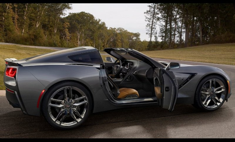 car-wallpaper-chevrolet-corvette-c7-stingray-2014-black-side-door-open
