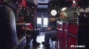 Brad Paisley's Corvette-inspired tour bus