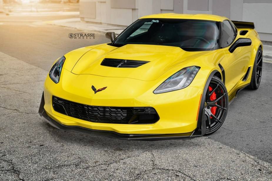 strasse wheels corvette c7