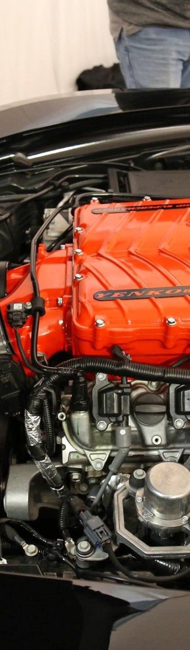 2017 Yenko Corvette Engine Bay