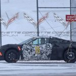 We may have the first images of a production C8 Corvette parts.