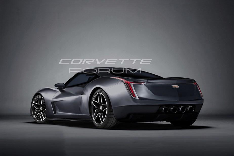 We Rendered A Mid Engine Cadillac Corvetteforum