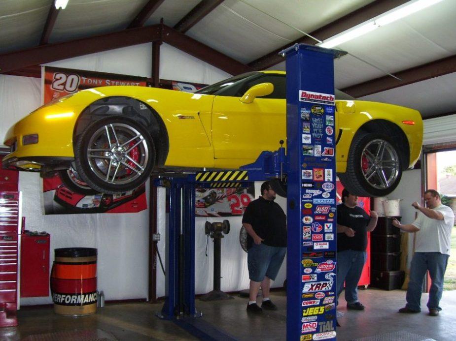 corvette jack