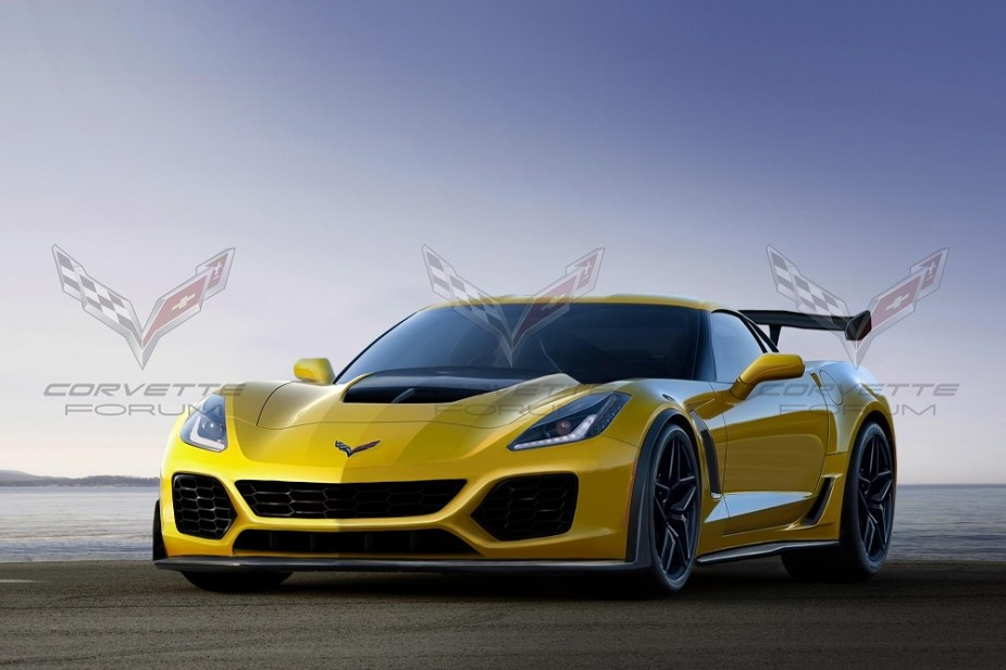 C7 Corvette ZR1 rendering