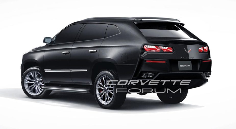 Corvette SUV Artwork Rear