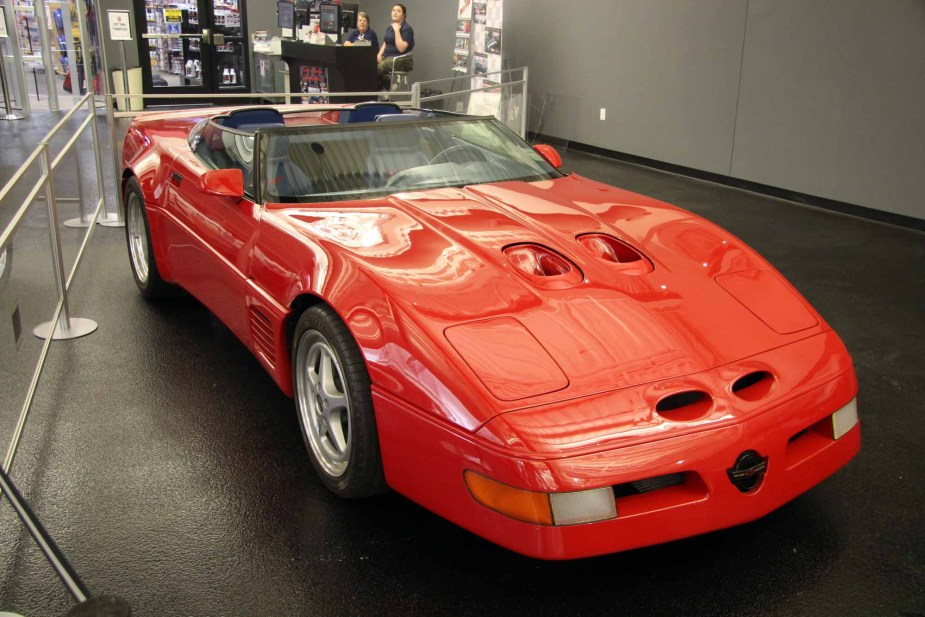 Callaway C4 Corvette at National Corvette Museum