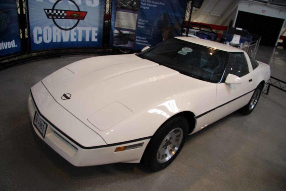 1983 Corvette at National Corvette Museum