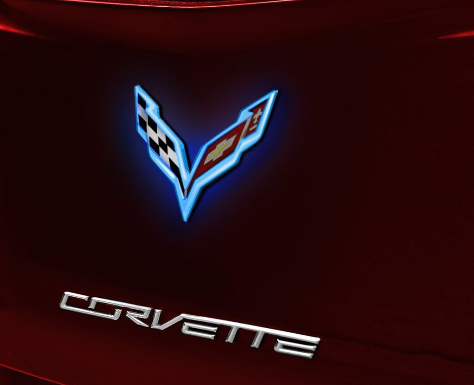 Corvette C7 Illuminated Emblem
