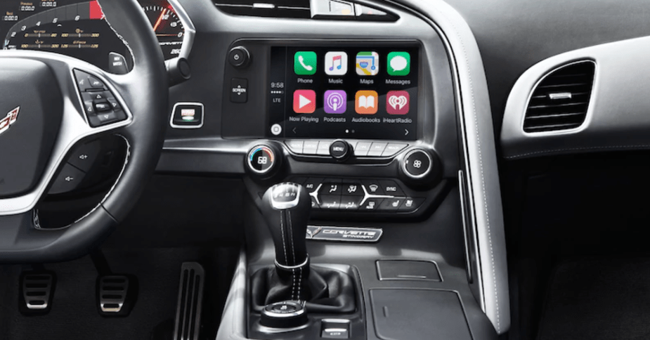 Alpine iLX-107 for iPhone and Apple CarPlay in Chevrolet Corvette