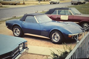 This '71 Corvette was used as a Surf Wagon.