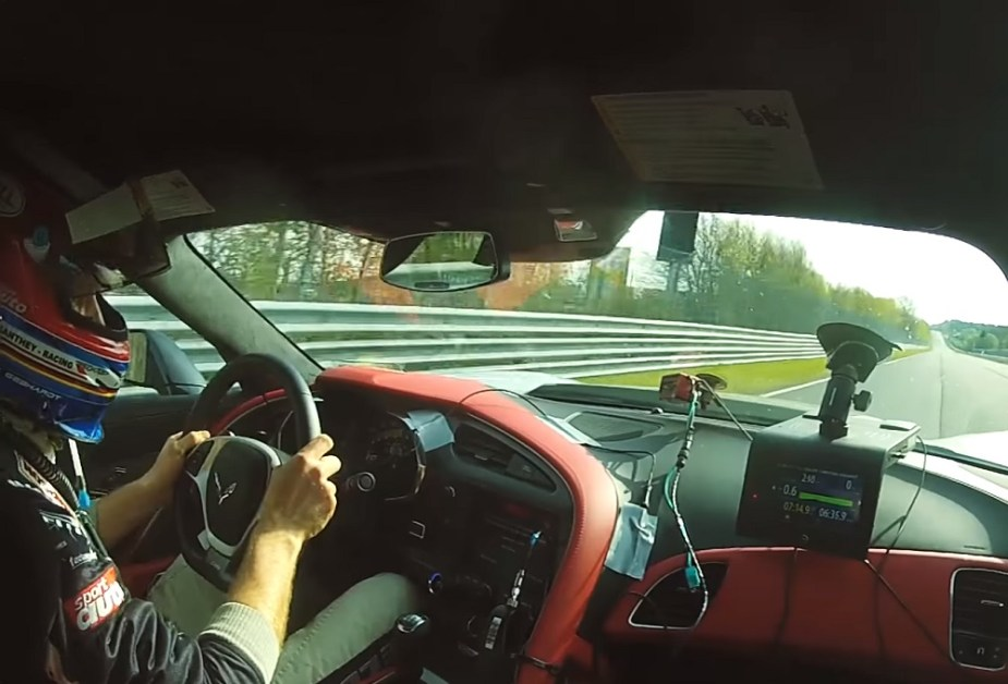 Corvette Z06 at Nürburgring
