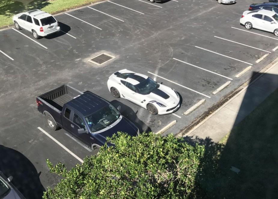 Corvette Parking Faux Pas