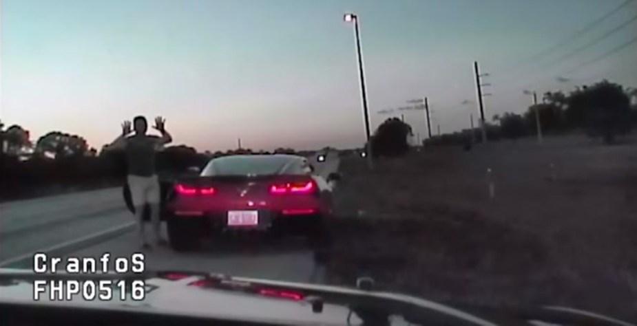 Priest Stingray Road Rage Incident