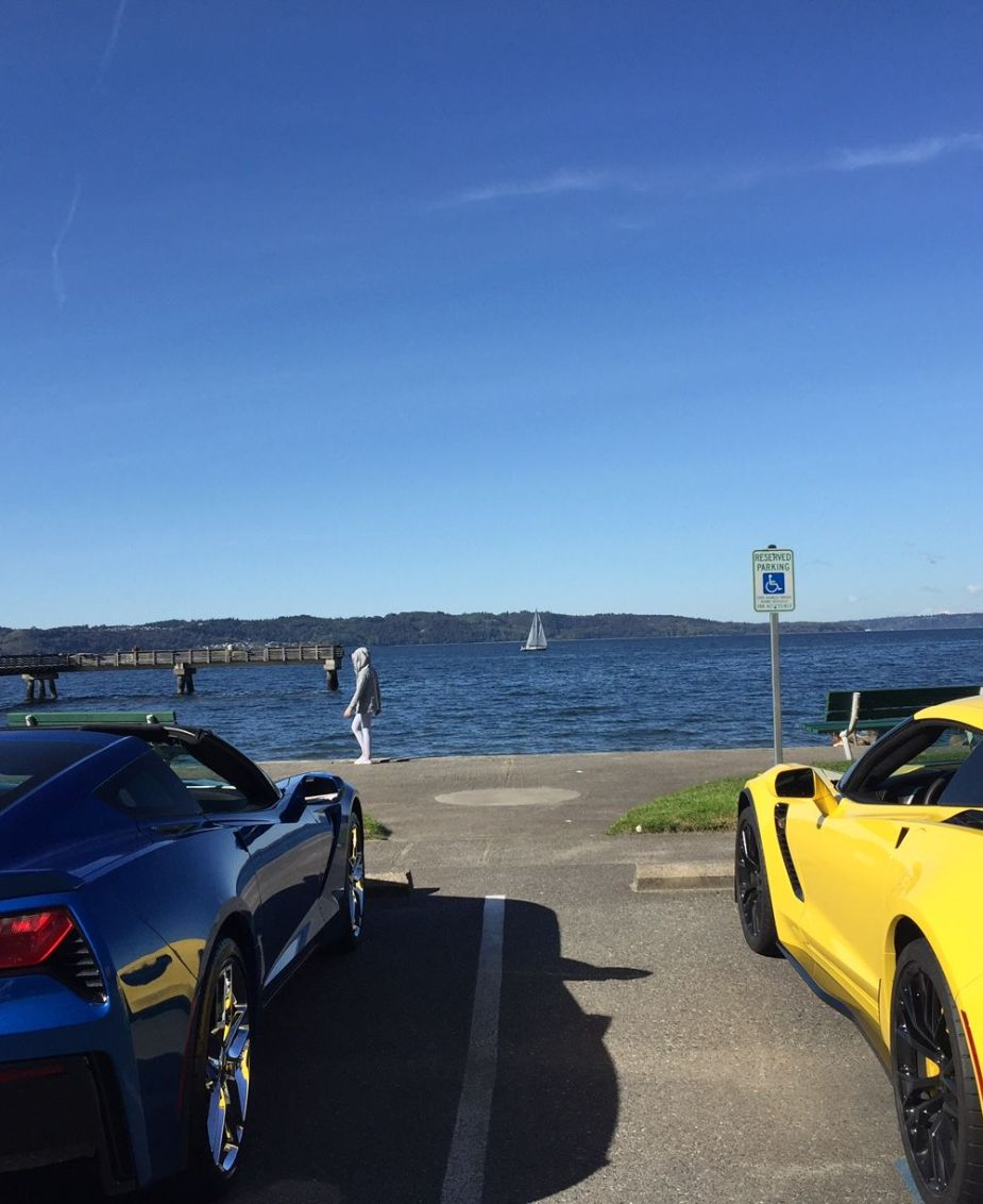 C7 Corvettes Seaside