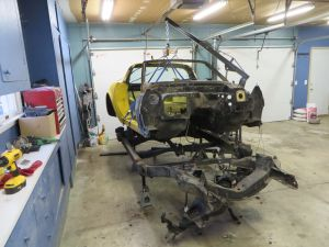 1981 C3 Corvette Body and Chassis Disassembly 2