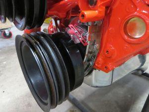 1981 C3 Corvette Engine Close-Up