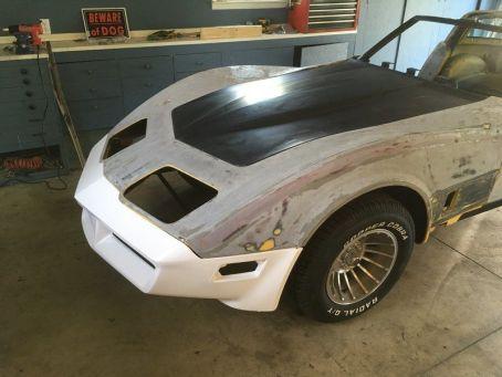 1981 C3 Corvette Front Fascia New