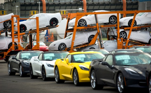 Bowling Green Corvette Delivery