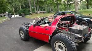 C4 Corvette Rally Racer