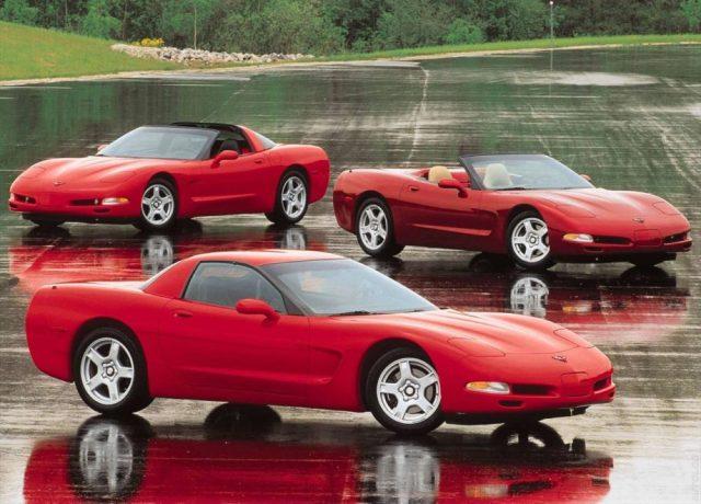 C5 Corvette Full Lineup
