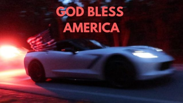 This C7 Owner's 4th of July celebration is epic.