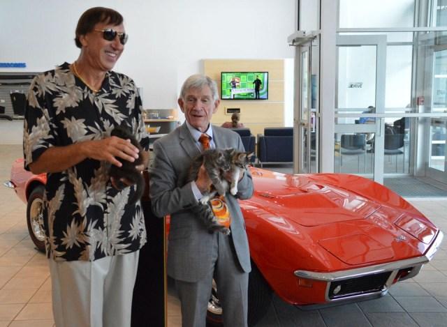 Man Donates 1969 Corvette