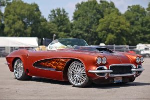 This 1962 Corvette shows just how wild you can get with a custom build.