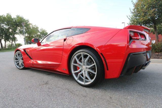 Red C7 Corvette Coupe Paint Correction
