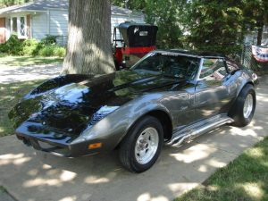 This 1973 Chevrolet Corvette by Ecklers has a rare working hatch.