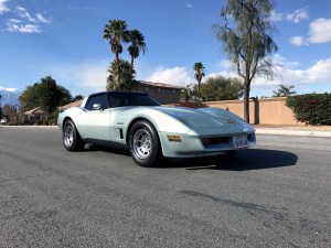 1982 Corvette in Rare Silver Green
