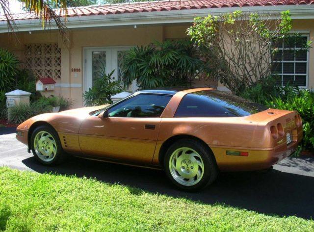 Copper C4 Corvette