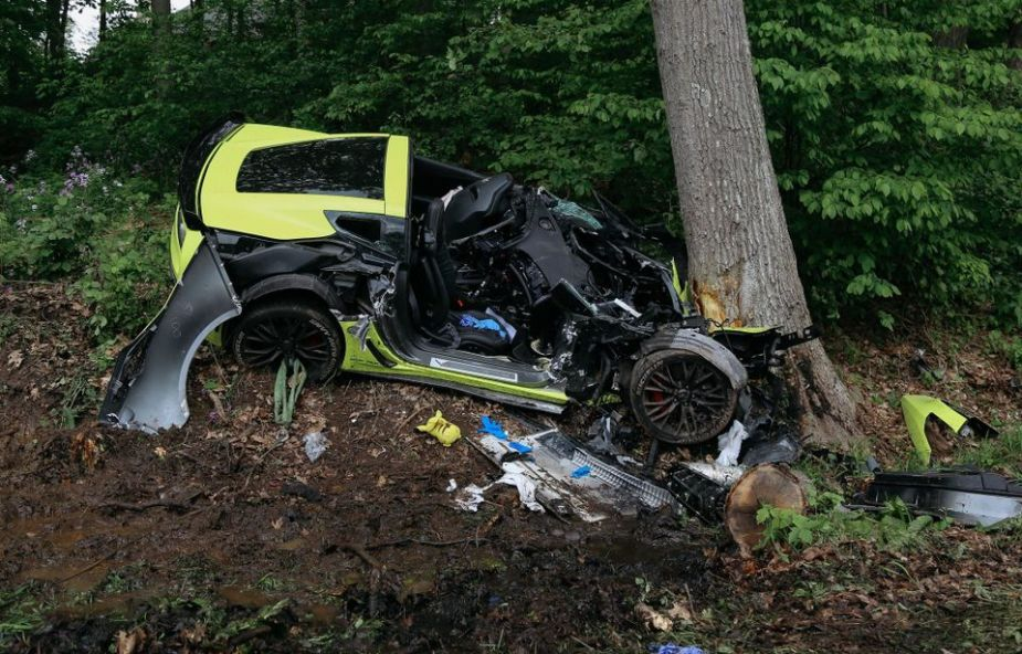 C7 Corvette Z06 Wreckage