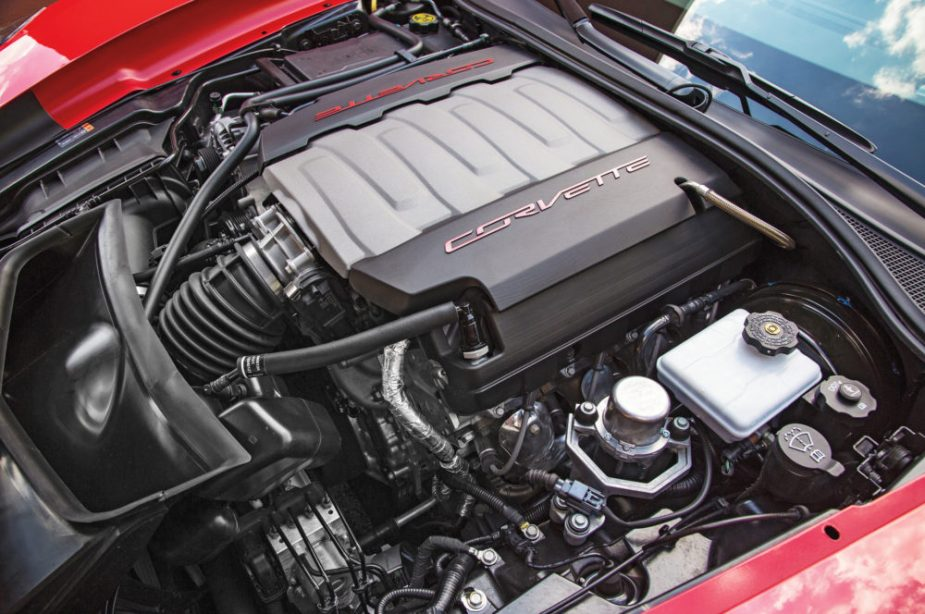 2014 Chevrolet Corvette Stingray Engine