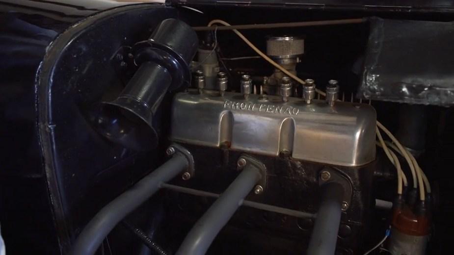 '26 Model T Frontenac engine