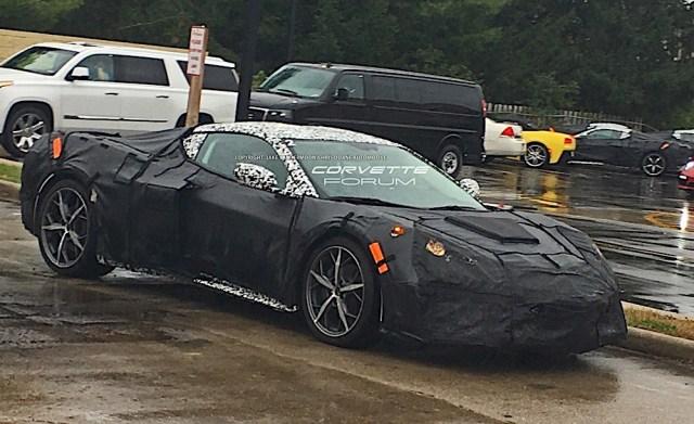 Mid-Engine Corvette Supercar Spy Shot