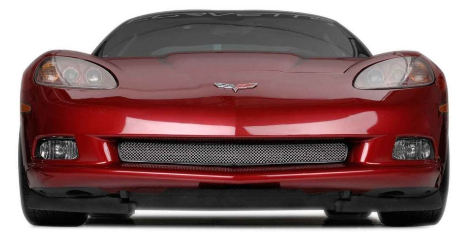 C6 Corvette with an aftermarket grille